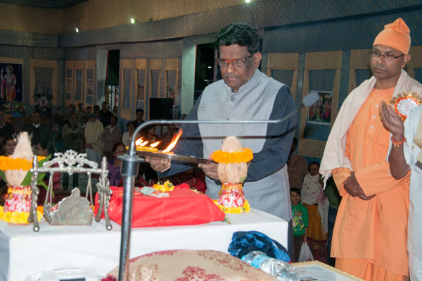 Hon'ble Governor Pooja visits to Meghalaya Hindu Mission