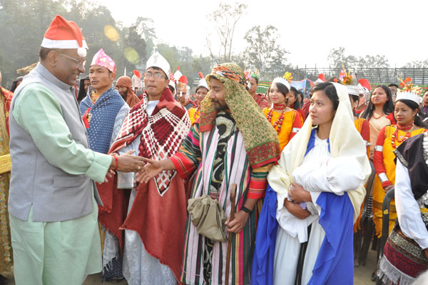 Christmas Carol Service Organised by the General Assembly Presbyterian Church of India at Polo Ground