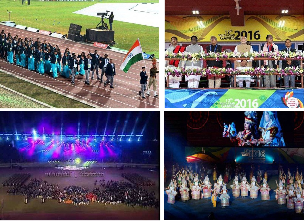 Opening Ceremony of 12th South East Asian Games