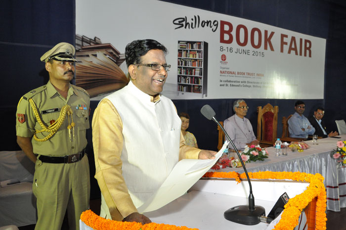 Inauguration of A Book Fair Organised by National Book Trust, India at the State Central Library, Shillong