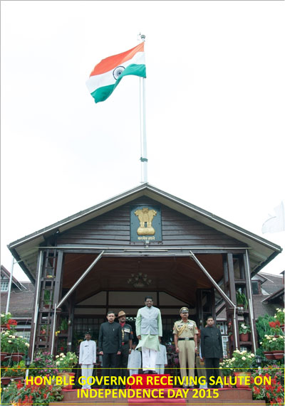 Independence Day at Raj Bhvan, Shillong